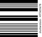black and white stripes... | Shutterstock . vector #497605678