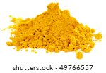 pile of curry powder isolated... | Shutterstock . vector #49766557
