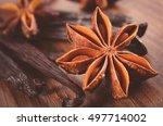 vintage photo  closeup of fresh ... | Shutterstock . vector #497714002