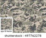Digital Camouflage Pattern...