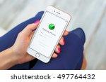 riga  latvia   september 8 ... | Shutterstock . vector #497764432