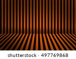 stripe room for halloween... | Shutterstock . vector #497769868