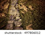 The Path Of Natural Stones In...