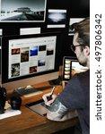 photography ideas creative... | Shutterstock . vector #497806342