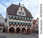 Small photo of Town in Germany - Weil der Stadt