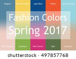 blurred fashion infographic... | Shutterstock .eps vector #497857768