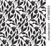 seamless tulips pattern ... | Shutterstock .eps vector #49788055