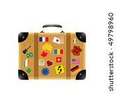 travel suitcase   Shutterstock .eps vector #49798960