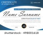blue elegance horizontal... | Shutterstock .eps vector #498001618