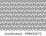 abstract structural curved... | Shutterstock . vector #498019672