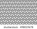 abstract structural curved... | Shutterstock .eps vector #498019678