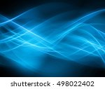 abstract blue background | Shutterstock . vector #498022402