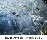 bullet holes | Shutterstock . vector #498036916