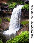 minnehaha falls is located in...   Shutterstock . vector #49805686