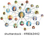 vector illustration of an... | Shutterstock .eps vector #498063442
