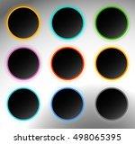 circle button  badge. button...
