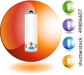 water heater | Shutterstock .eps vector #49806607