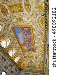 caserta  italy   august 26 ... | Shutterstock . vector #498092182