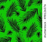 seamless pattern with brush... | Shutterstock .eps vector #498126376