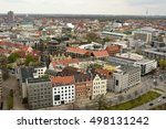 Stock photo view over hanover germany in spring 498131242