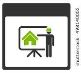 realty developer calendar page... | Shutterstock .eps vector #498140002