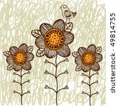 floral background   Shutterstock .eps vector #49814755