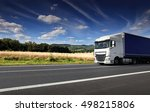 truck on the road | Shutterstock . vector #498215806