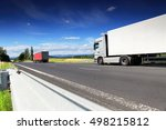 truck on the road | Shutterstock . vector #498215812