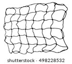 net pattern. rope net vector... | Shutterstock .eps vector #498228532