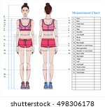 Woman Body Measurement Chart....