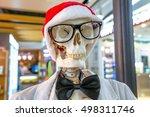 Funny Portrait Of A Skeleton...