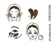 steps how to apply eye patches