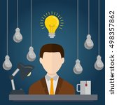 Businessman With Ideas. ....