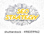 seo strategy   sketch business... | Shutterstock . vector #498359962