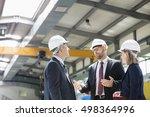 business people wearing... | Shutterstock . vector #498364996