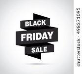 black friday sale banner... | Shutterstock .eps vector #498371095