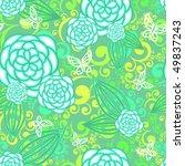 floral seamless pattern | Shutterstock .eps vector #49837243