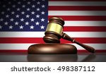 usa laws  justice and legal... | Shutterstock . vector #498387112