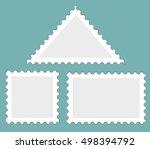 Postal Stamps. Vector...