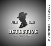 film noir detective abstract...