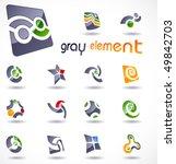 vector design elements. set 22. | Shutterstock .eps vector #49842703