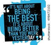 motivational inspirational... | Shutterstock .eps vector #498472102