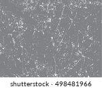 grunge overlay texture.vector... | Shutterstock .eps vector #498481966