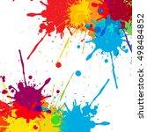 Splatter Color Background...