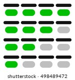 4 step progress indicators | Shutterstock .eps vector #498489472