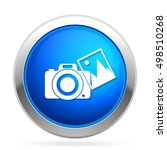 camera with photo icon | Shutterstock .eps vector #498510268