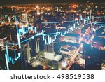 close up of finance business... | Shutterstock . vector #498519538