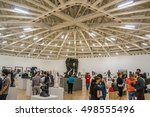 mexico city   july 15  2015 ... | Shutterstock . vector #498555496