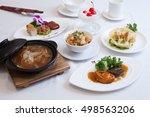chinese food full set    Shutterstock . vector #498563206
