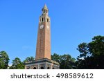 The bell tower at University of North Carolina, Chapel hill, NC, USA